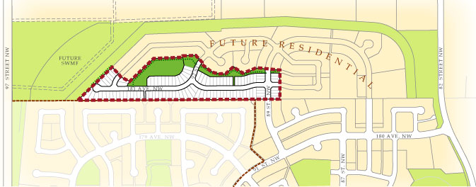 College Woods at Lakeview Stage Plan