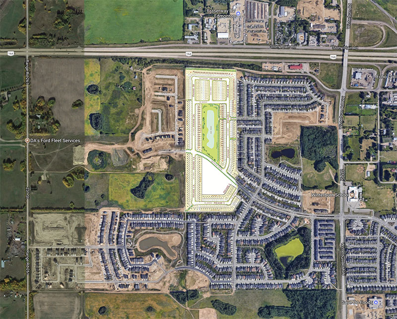 College Woods Secord Phase2 Lot Map
